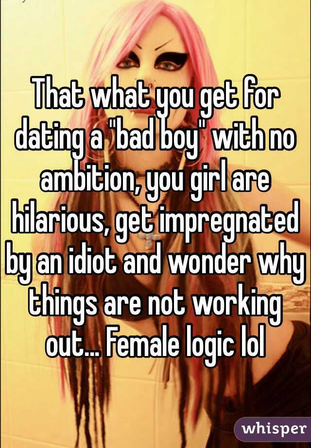Dating a girl with no ambition
