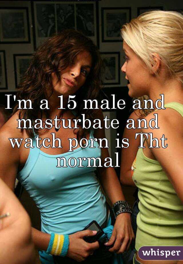 For males masturbate watch