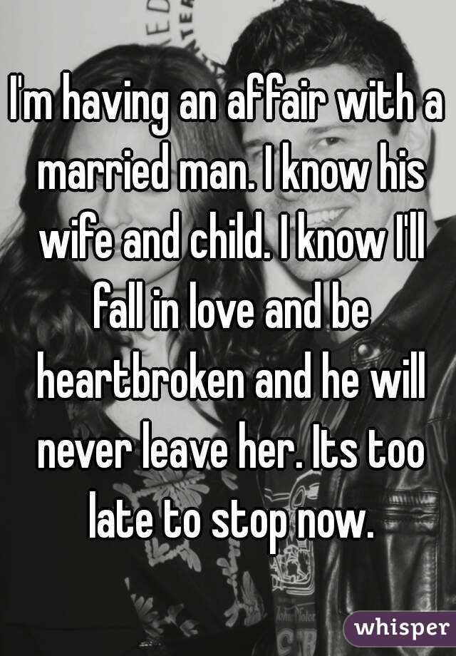 An Affair With A Married Man