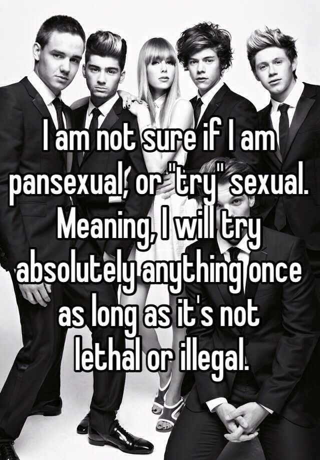 Trysexual meaning