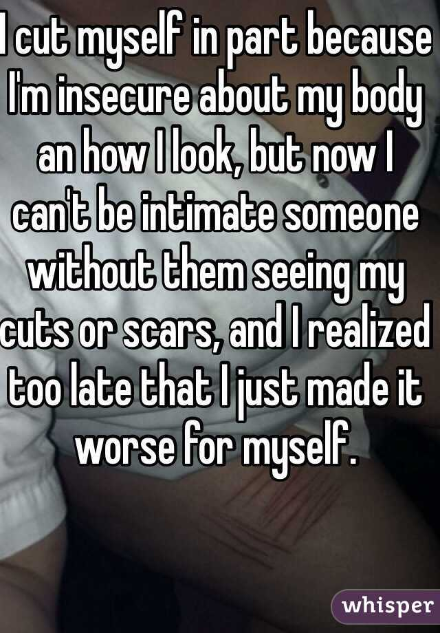 insecure about my body