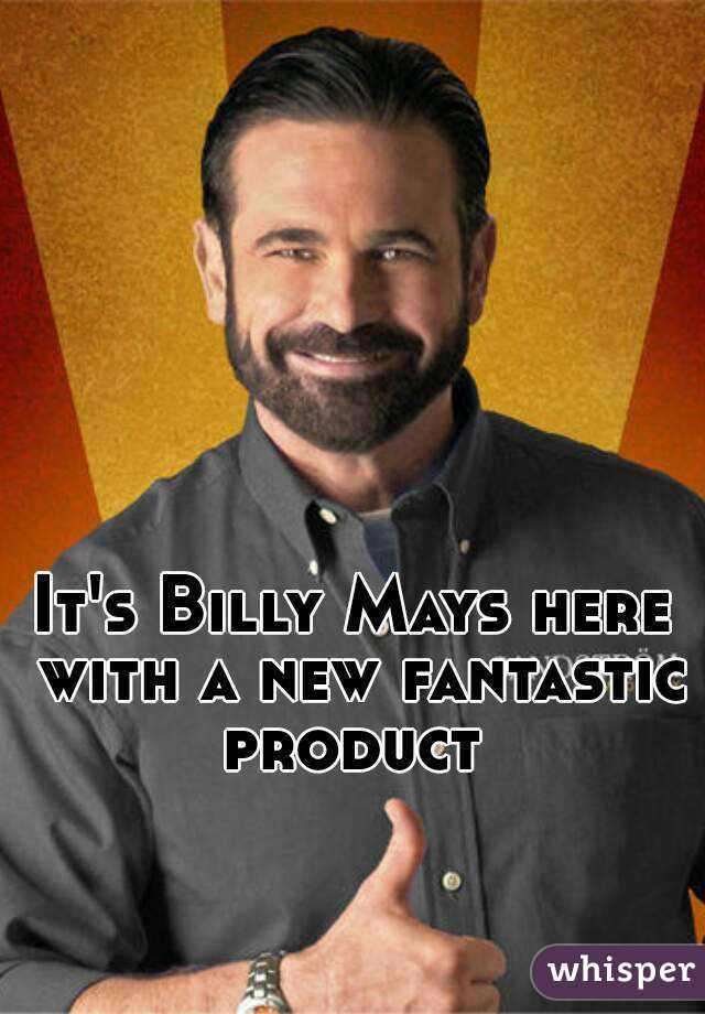 It's Billy Mays here with a new fantastic product
