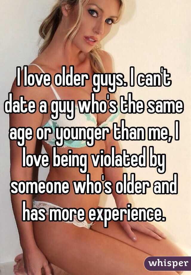 dating guys the same age