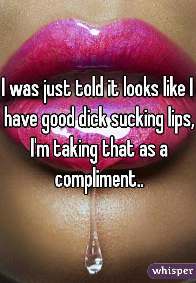 A Good Dick Sucking
