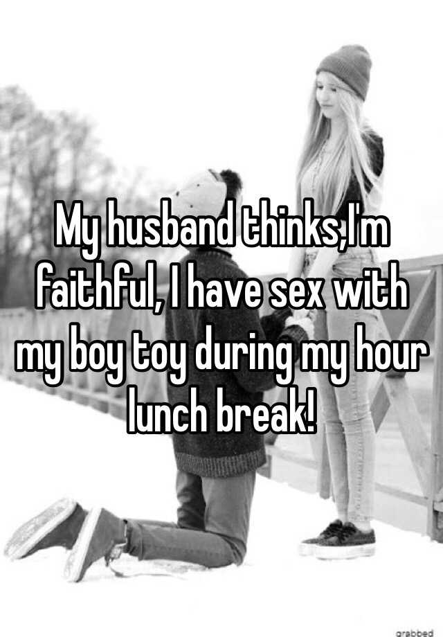 How to have lunch hour sex