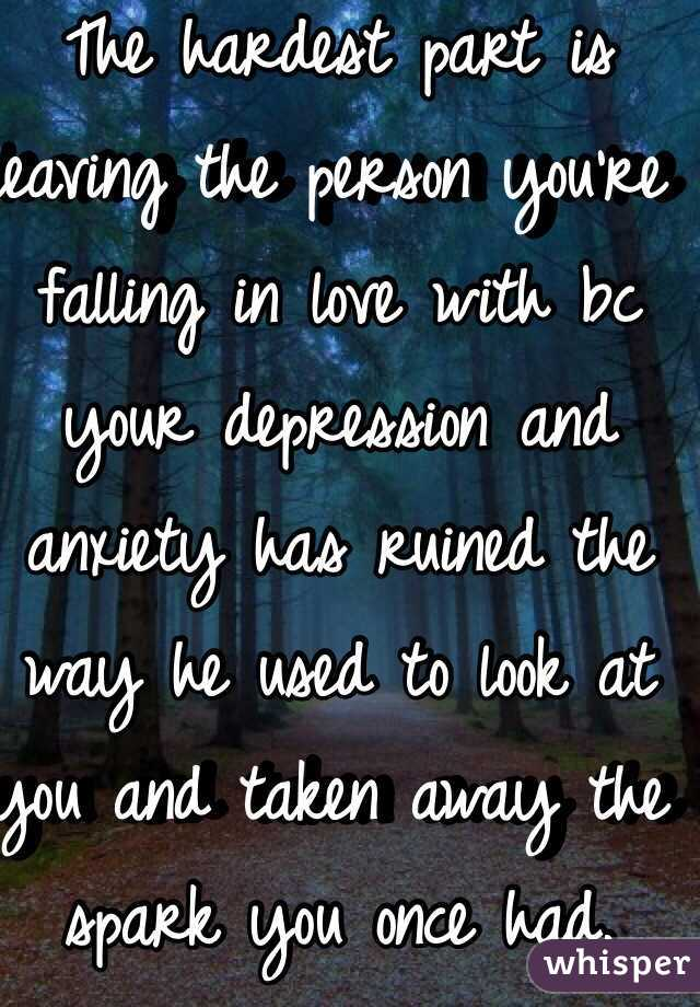 being in a relationship with someone who has depression