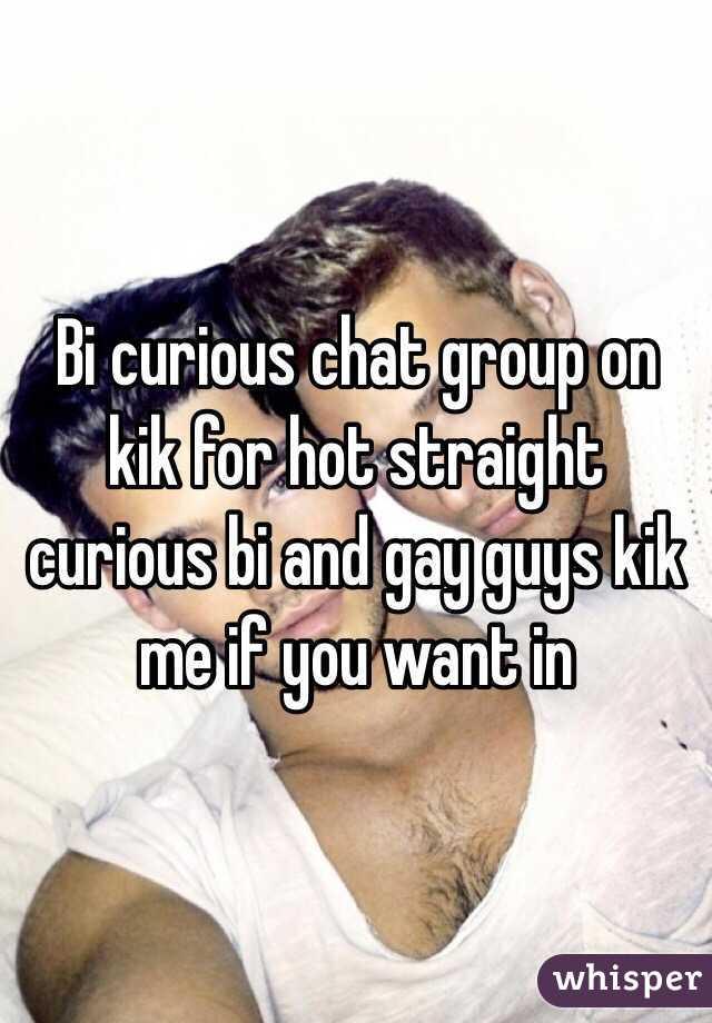Gay guys kik me