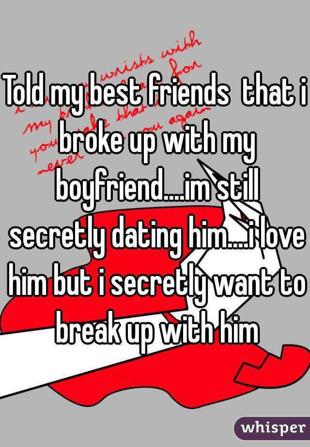 best friends dating and breaking up