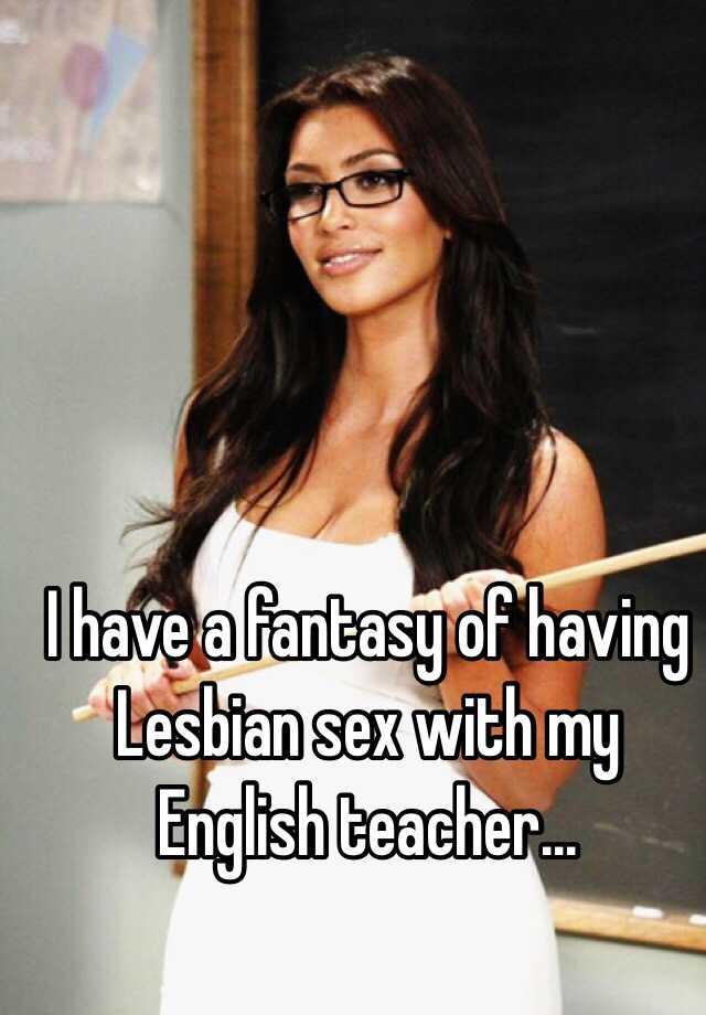 Lesbian fantasy teacher