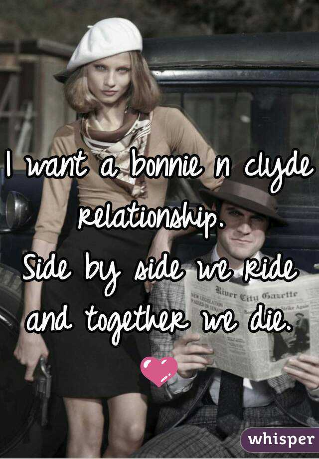 What is a bonnie and clyde relationship