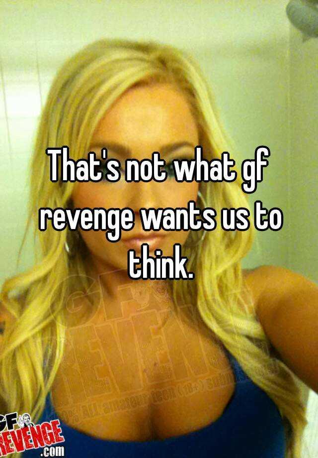 Gf revenge photos