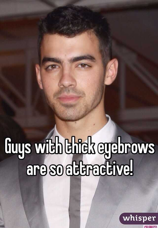 Guys With Thick Eyebrows Are So Attractive