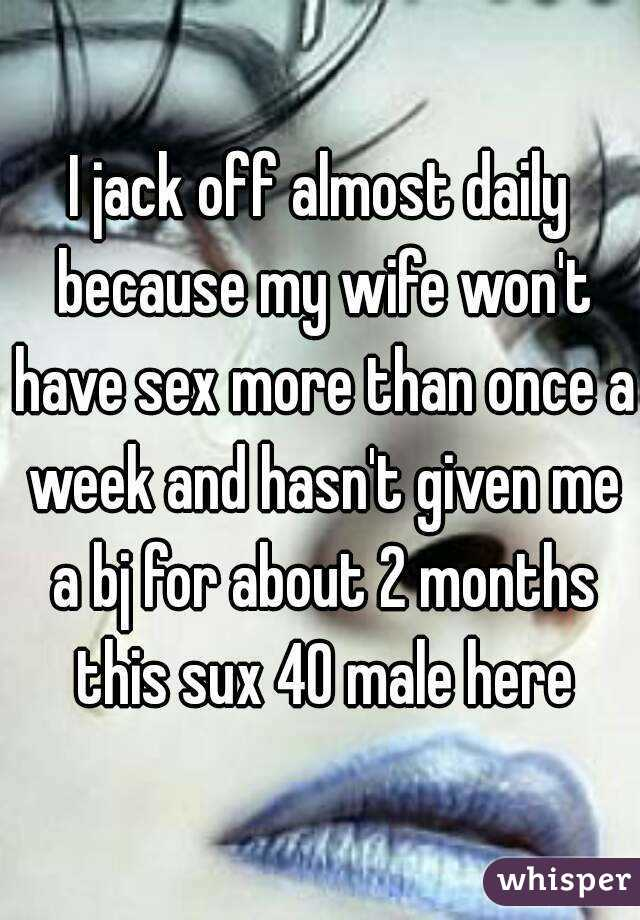 Jack Off On My Wife