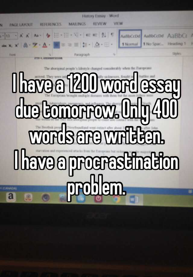 400 Words Essay