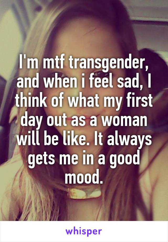 i think im transgender mtf