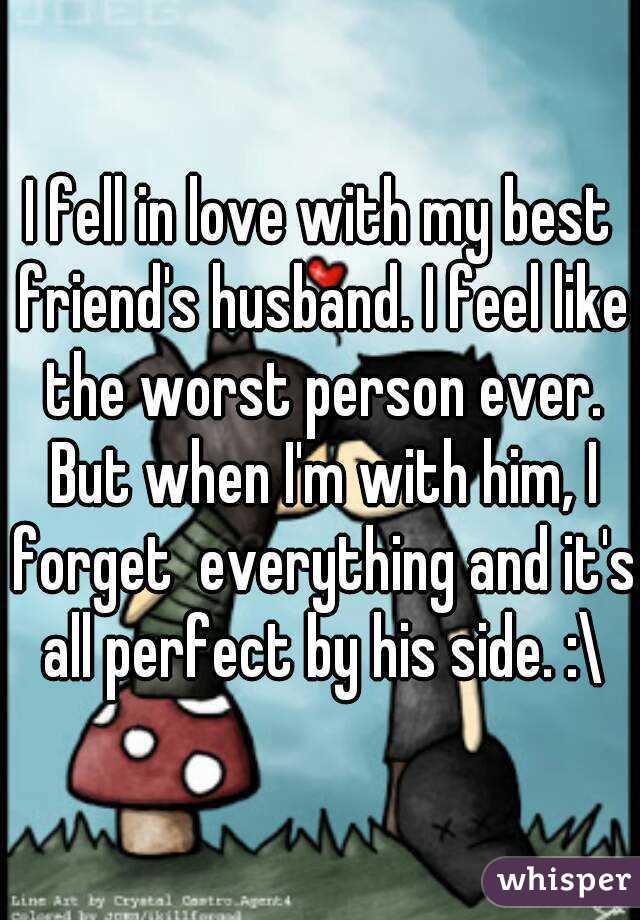 Husband feels like a friend
