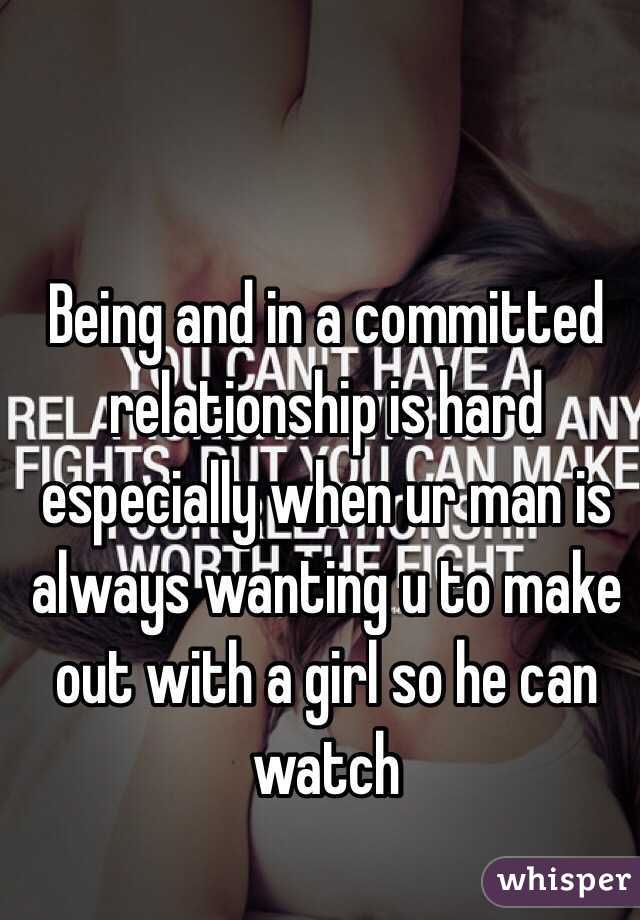 A committed man