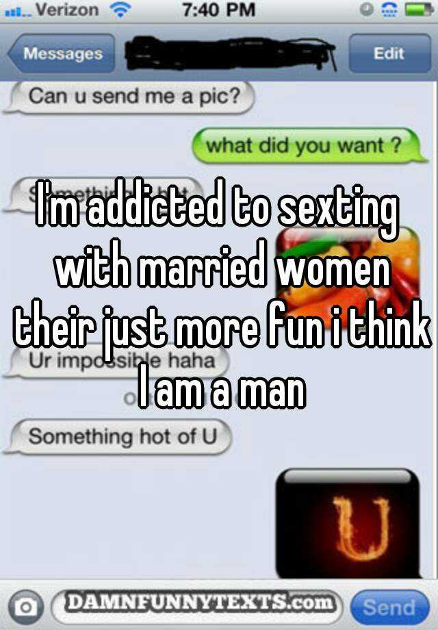 Married woman sexting