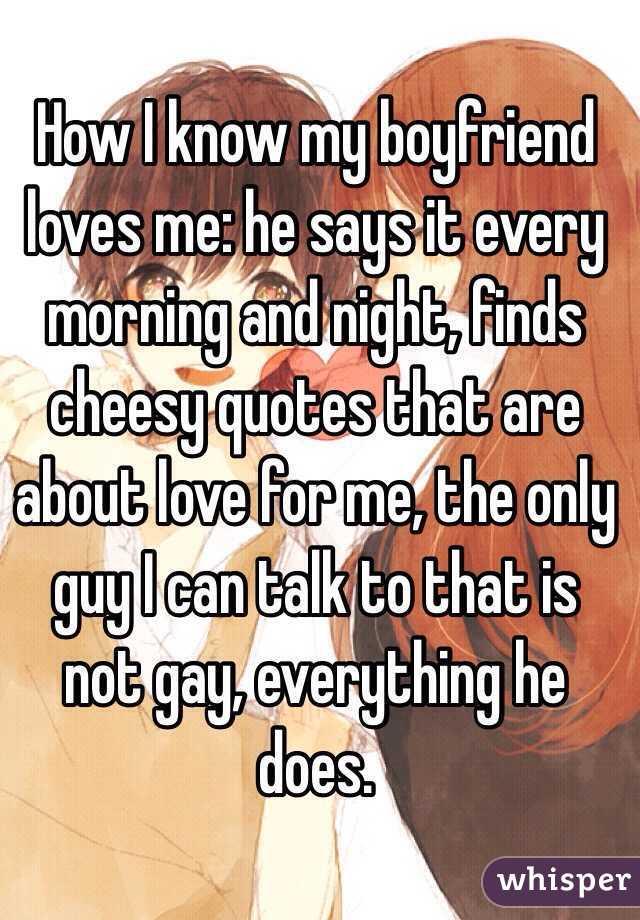 Gay boyfriend love