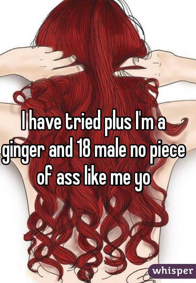 Chubby ass redhead