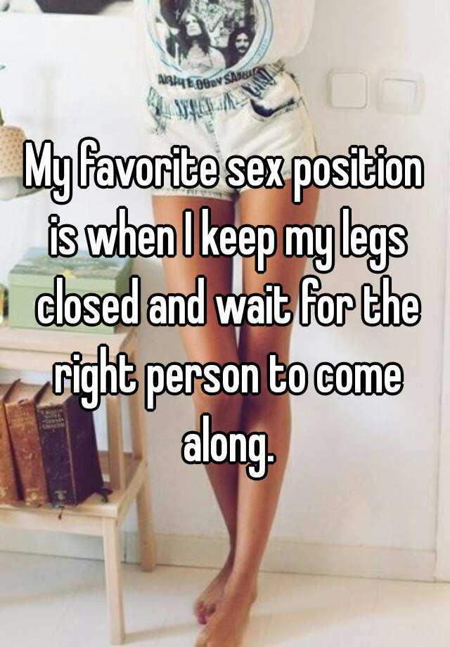 Closed legs sex 10