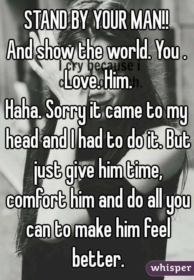 More, Do Him Love You You Him Show How you are waiting