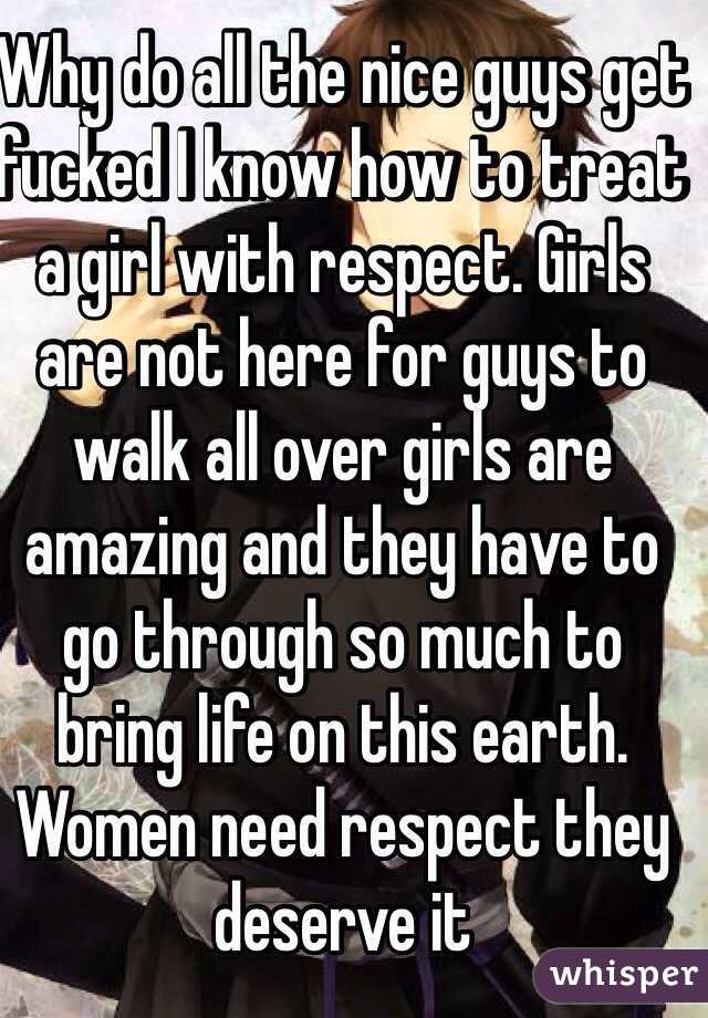 Why Are Girls So Mean To Nice Guys
