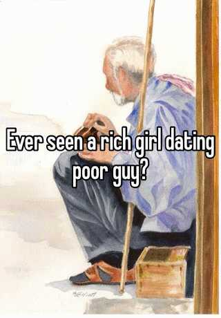 poor girl dating a rich guy