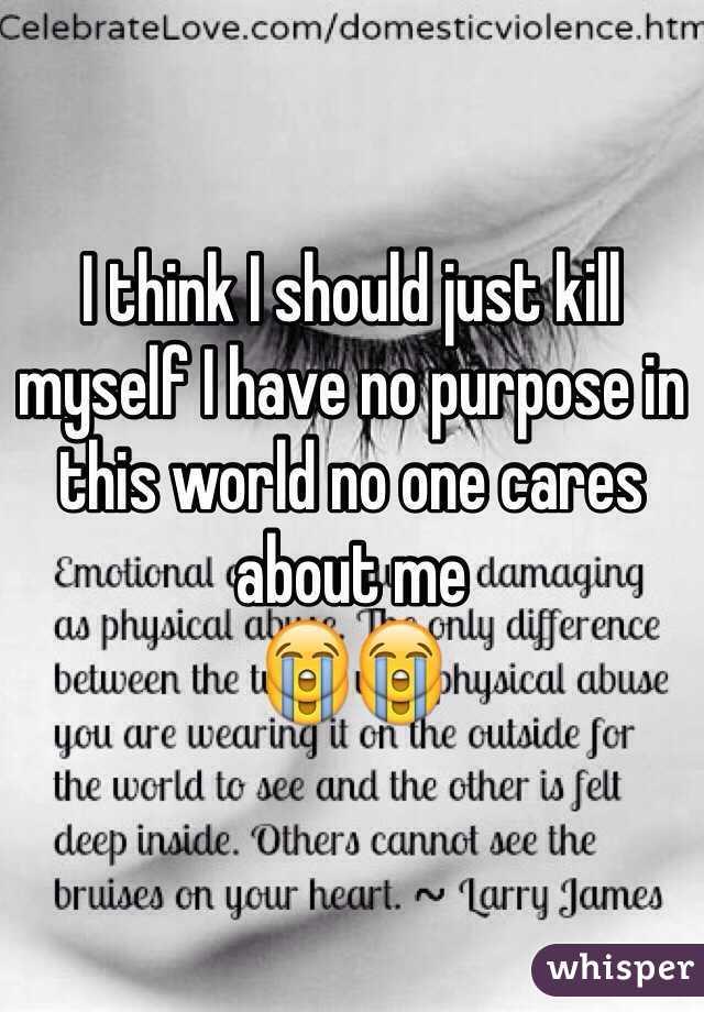i think i will kill myself