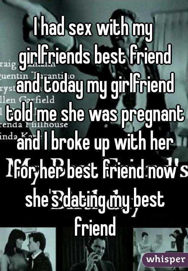 Friend had sex