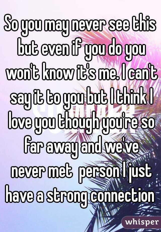 Hookup Someone You Ve Never Met