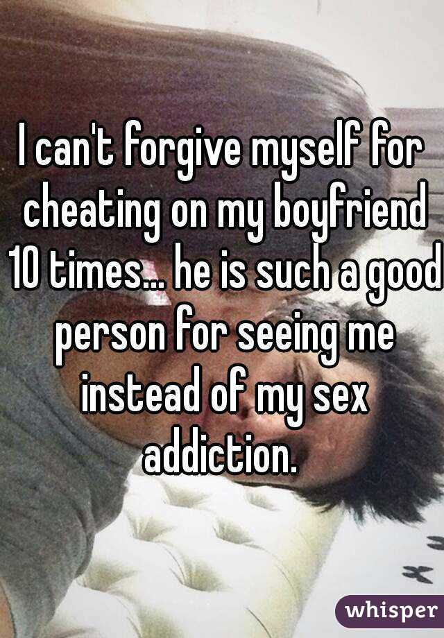 How Can I Forgive Myself For Cheating