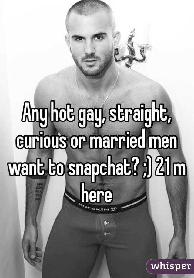 Married straight men screwing men