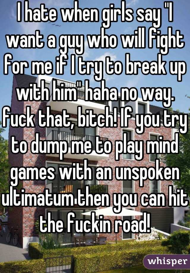 Bitch fucked then dumped