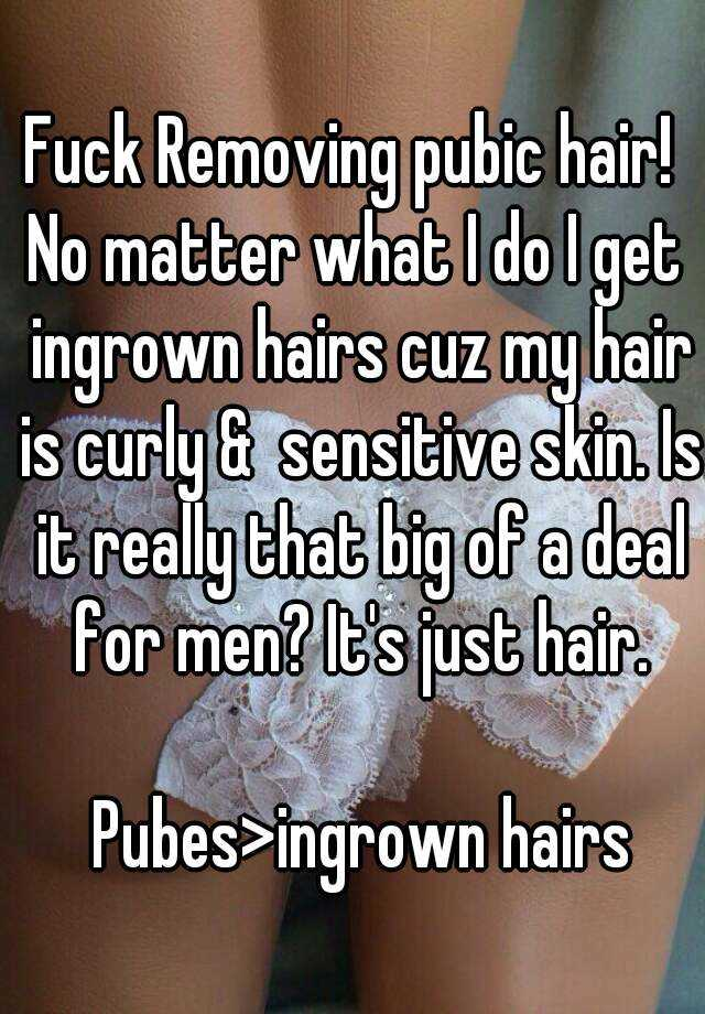 Just for men pussy hair