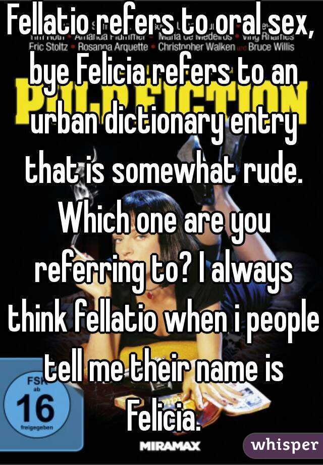 Oral sex urban dictionary