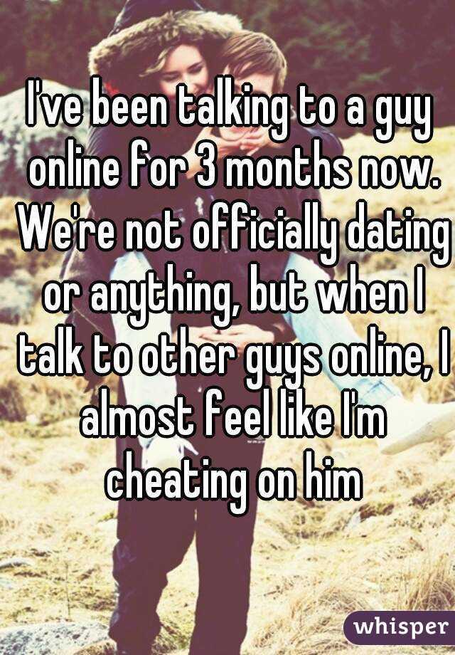 Talk to guys online