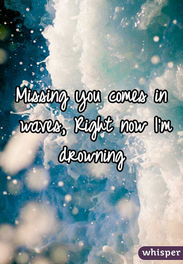 right now im missing you