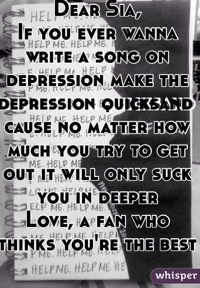 The How To Write A Depressing Song