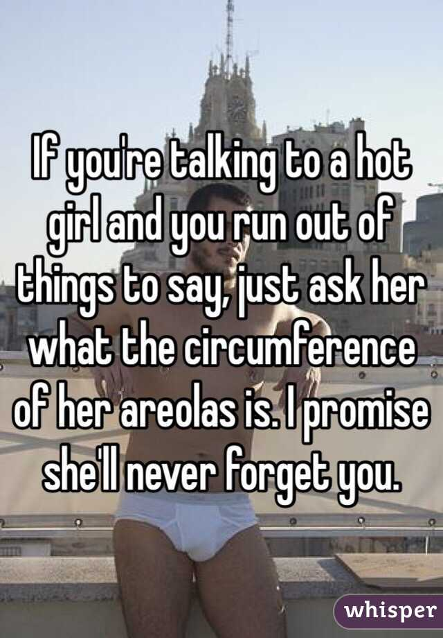 What things to say to a girl