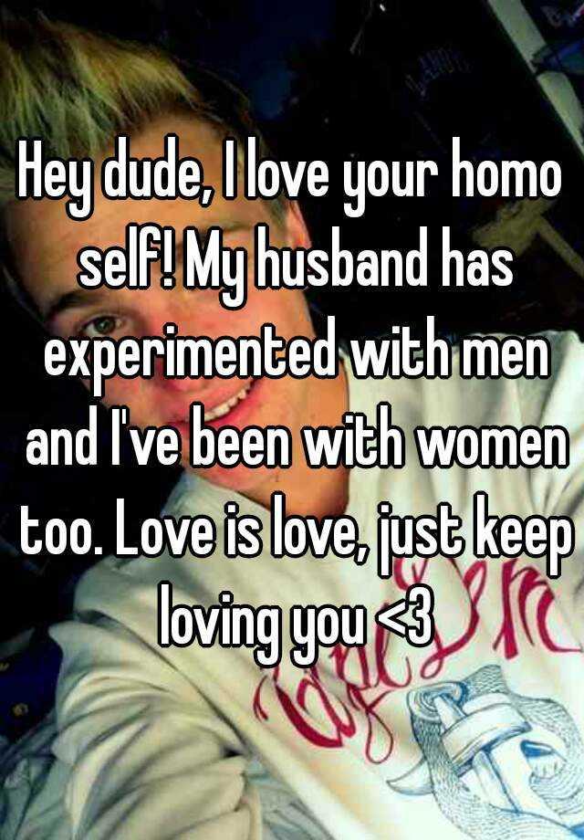 My husband is homo