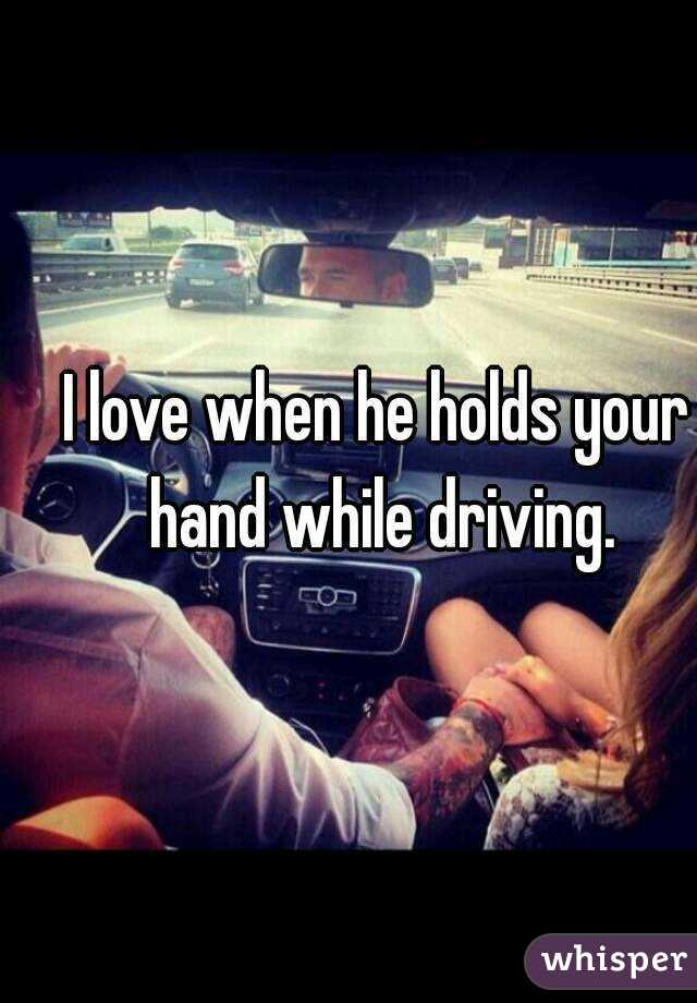 When A Guy Holds Your Hand
