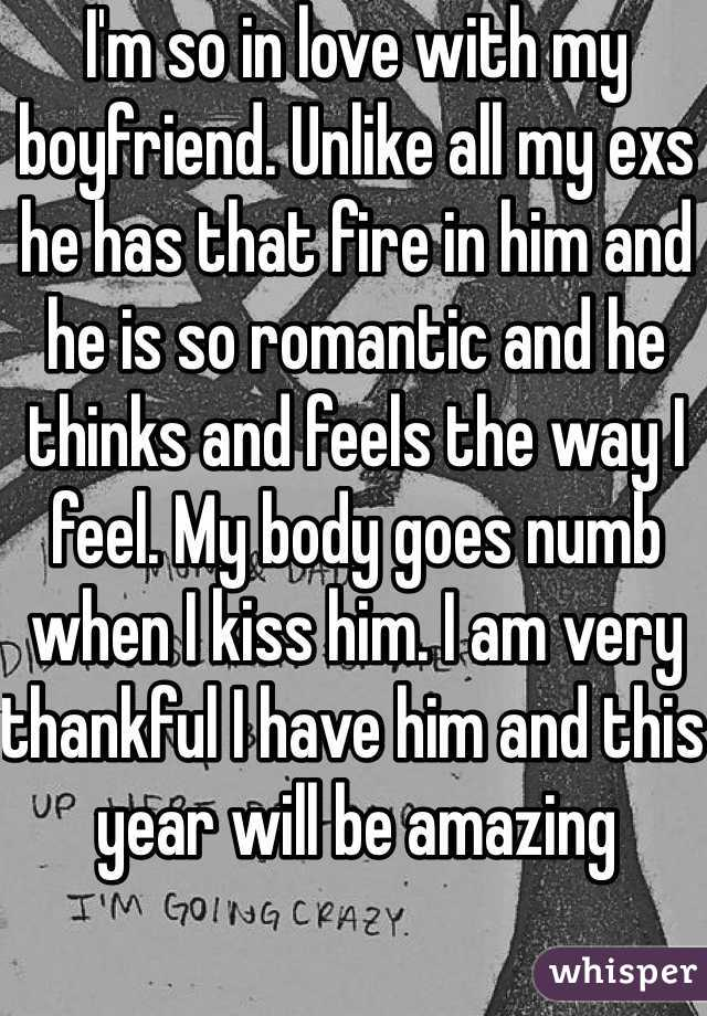 My Boyfriend said he feels numb recently what should I do?