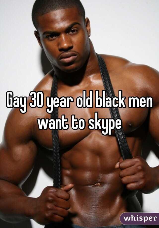 Older black gay men