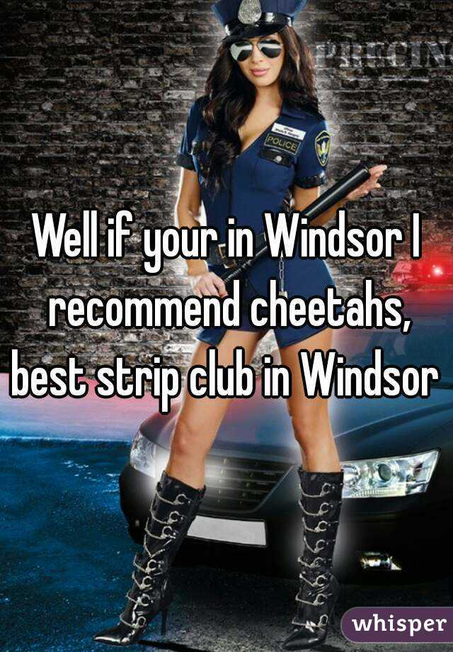 Think, erotic club windsor ontario are