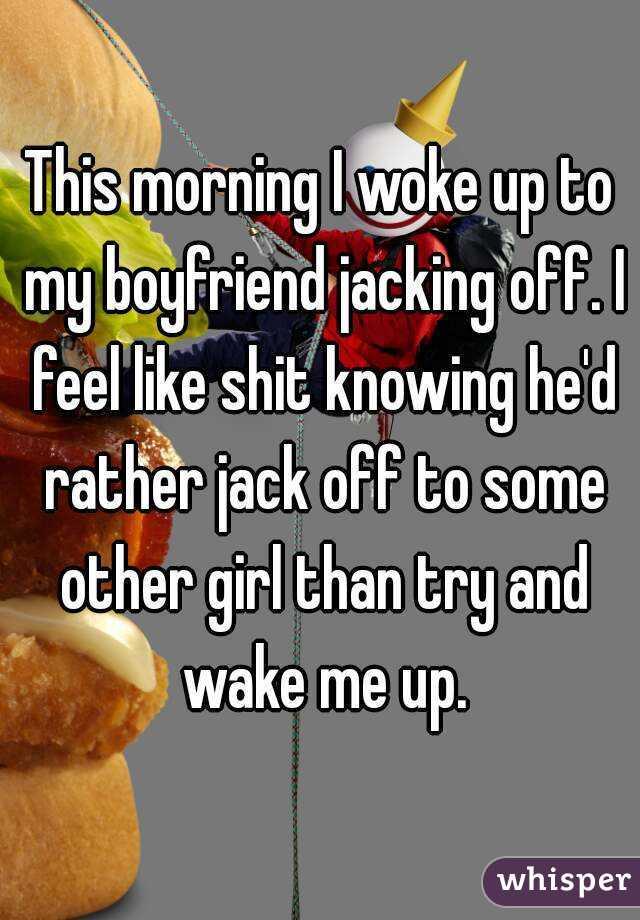Jack off my boyfriend