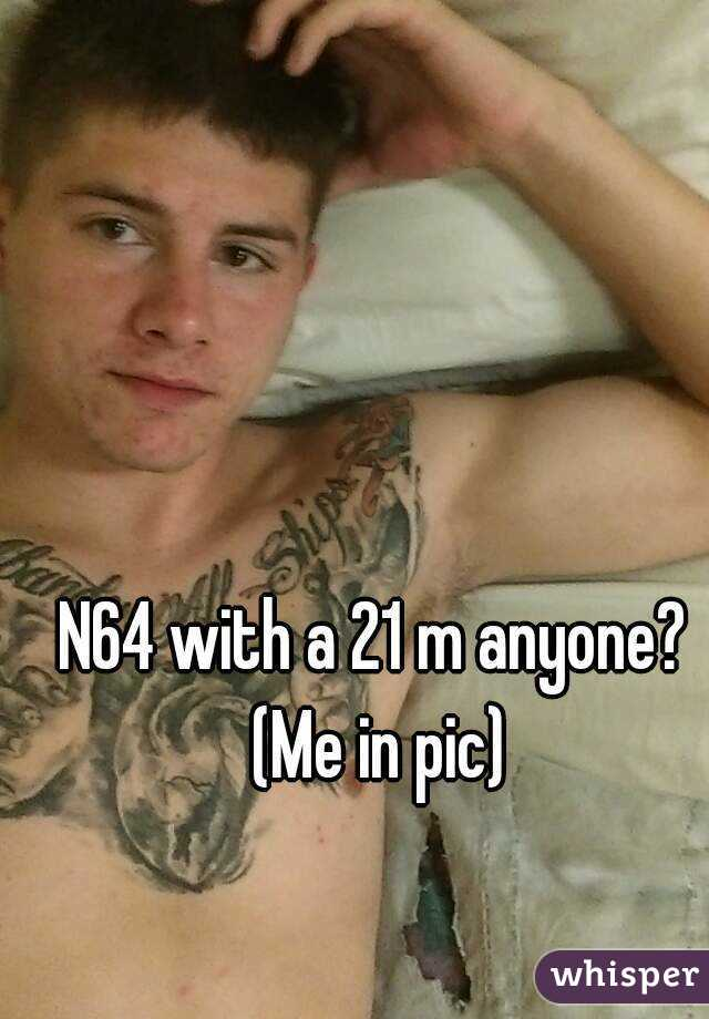 N64 with a 21 m anyone? (Me in pic)