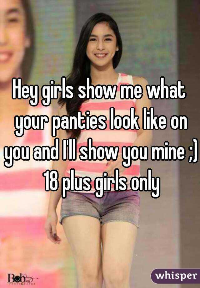 and panties bra only wearing Girls