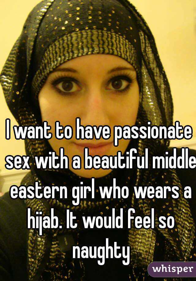 Sex with a middle eastern girl