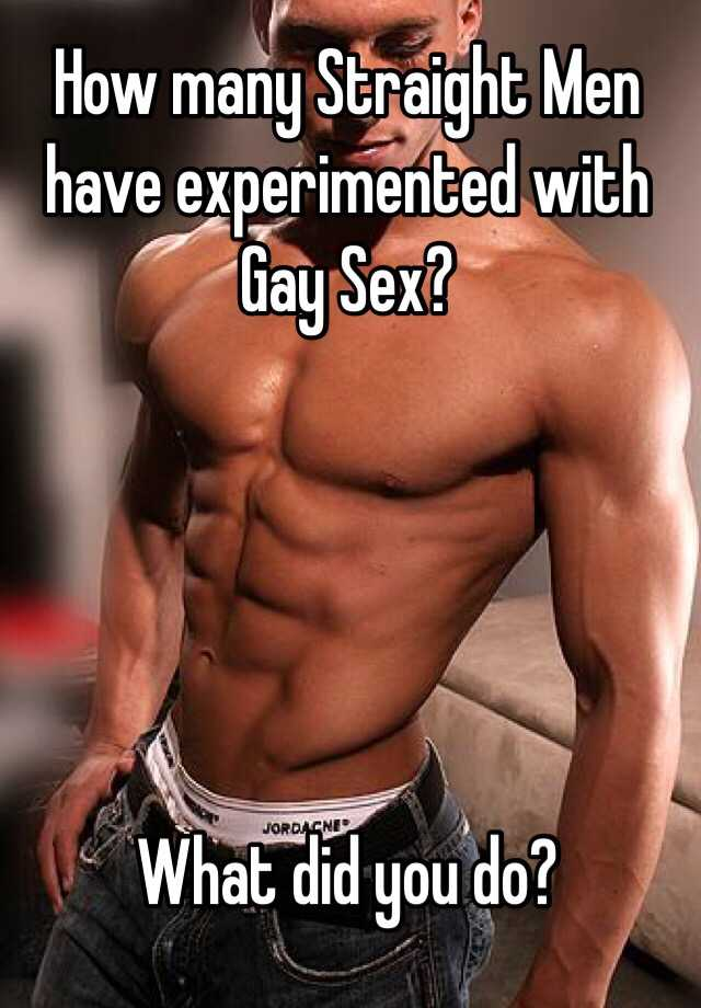 Str8 guys haveing gay sex